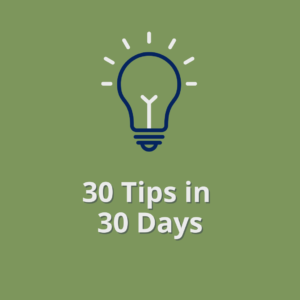 30 Cybersecurity Tips in 30 Days